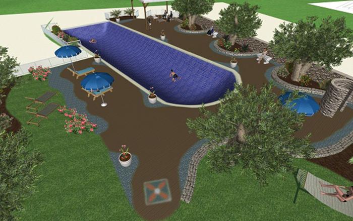 Garden design - Setup 3