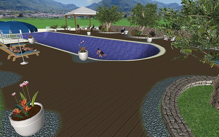 Garden design - Setup 4