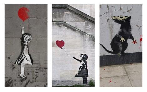 Setup Street art banksy