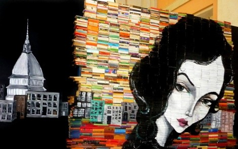The books art - Setup 2