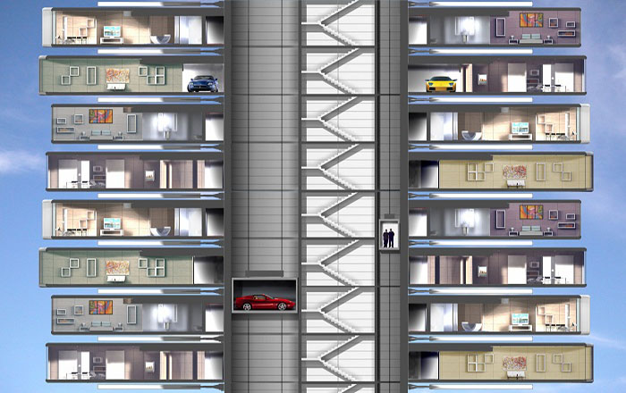 Rotating buildings - Setup