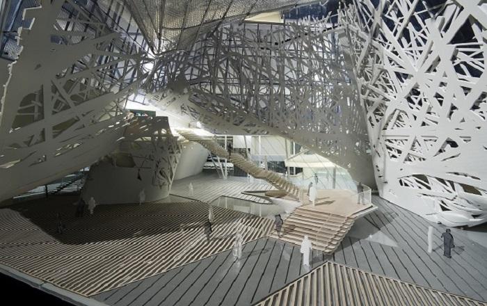 Setup Foresta urbana milano expo