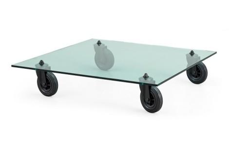 Setup tavolo con ruote