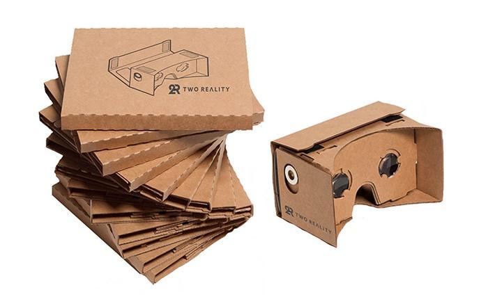 Google cardboard - Setup 2